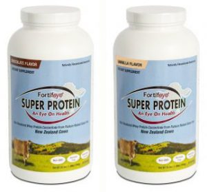 Fortifeye New Zealand whey protein concentrate Super Protein (Chocolate)